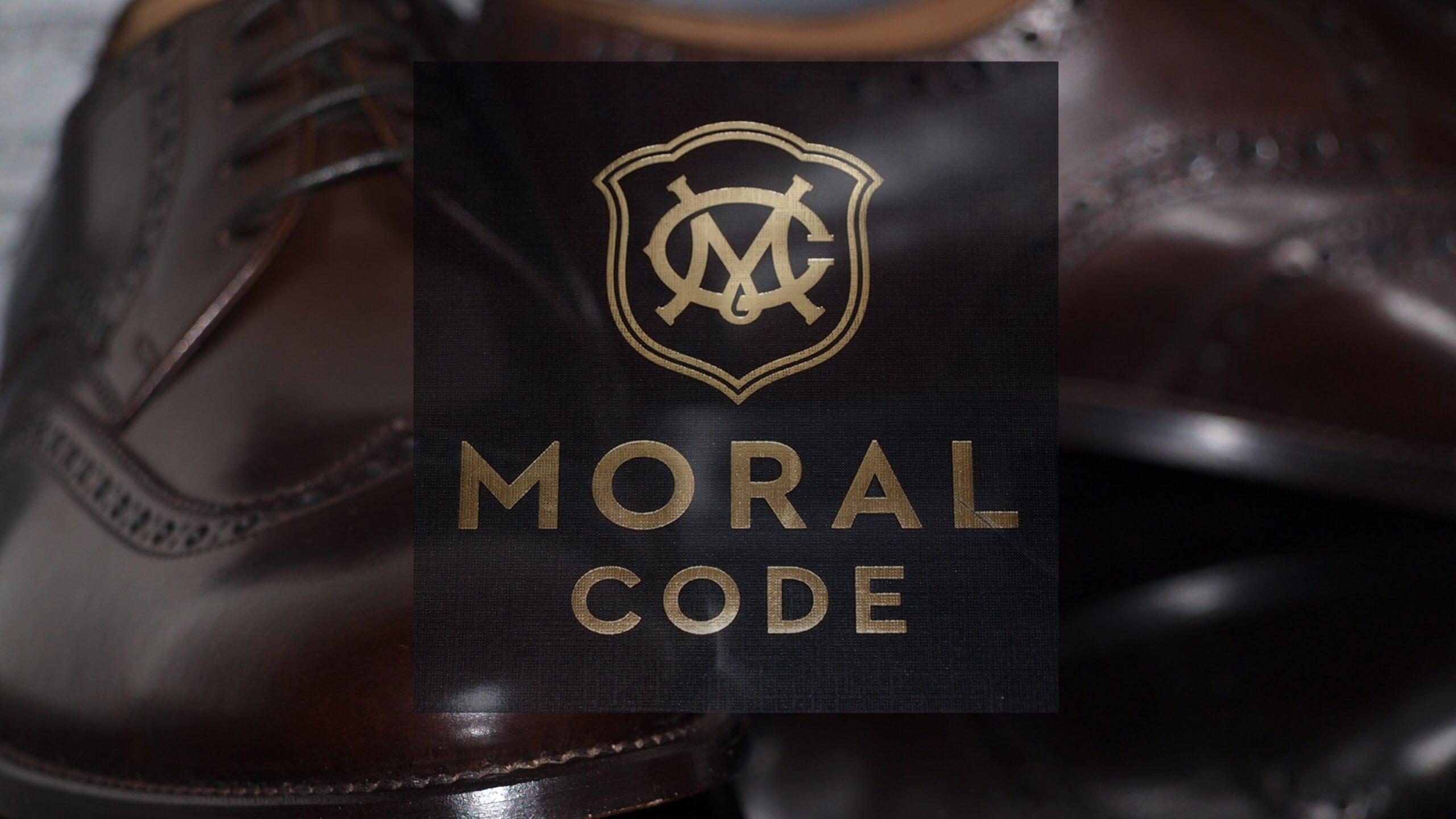 MORAL CODE(モラルコード)のビジネスシューズHOLDEN(ホールデン)1-1